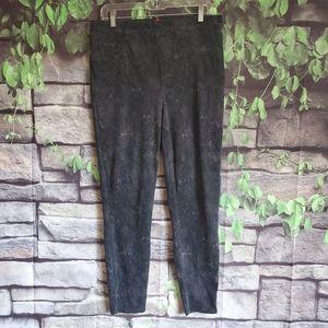 Spanx Black  Jeggings Size XL